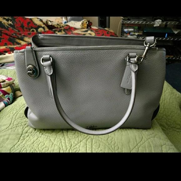 Coach Handbags - Coach Brooklyn Carryall 34 in Terra catta 9a3704d201a20